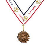3rd Place Ten Star Bronze Medal Award - Includes Ribbon