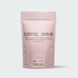 #Exfoliating Coffee Scrub Life's Butter
