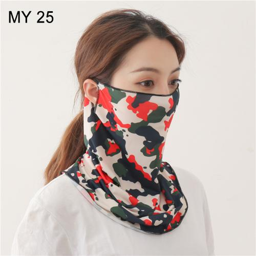 Silk Anti-UV Dust Face Cover - T.CH.-The Chicago Hustle-