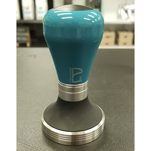 Teal Powder Coat Barista Handle and 58.4mm Base - Pullman
