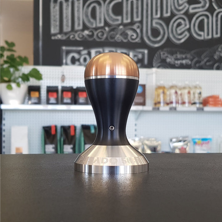 Pesado 58.5mm Coffee Tamper - Black and Bronze