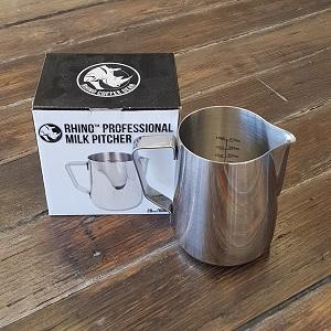 Rhinowares Professional Milk Pitcher - 600ml/32oz - Stainless