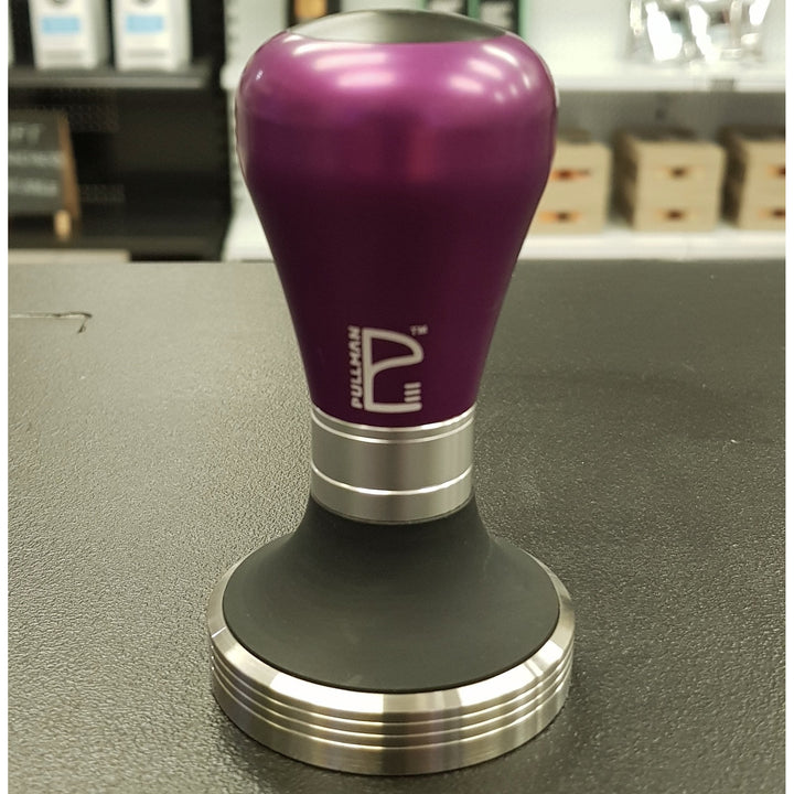 Purple Matte Barista Handle and 58.4mm Base - Pullman