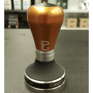 Burnt Orange Matte Barista Handle with 58.55mm Big Step Base - Pullman