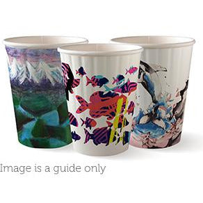 Coffee Cups Disposable patterns earth