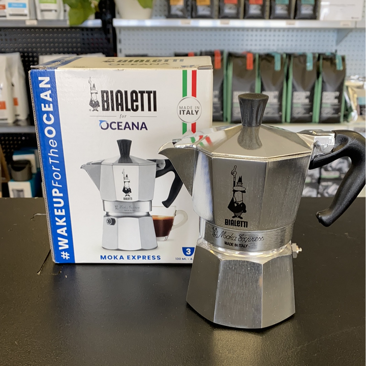 Bialetti Moka Pot - 3 or 6 Cup