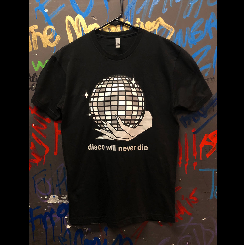 """Disco Will Never Die"" Tee - Design by Trap Bob"