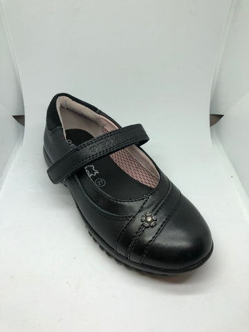 Geox J Peggy B - Black Leather