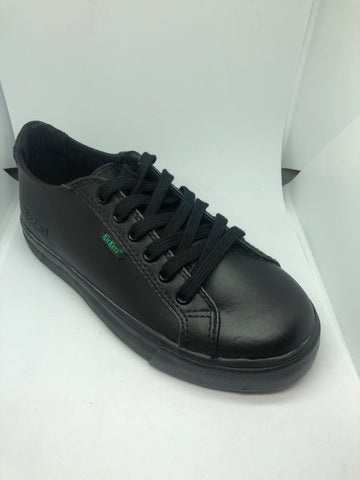 Kickers Tovni Lacer - Black Leather
