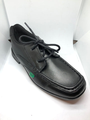 Kickers Ferock Lace - Black Leather