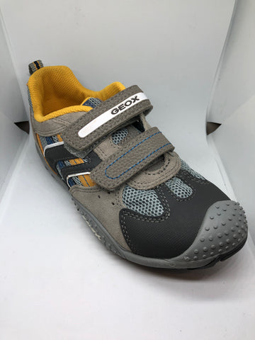 Geox J Marlon A - Grey/Yellow