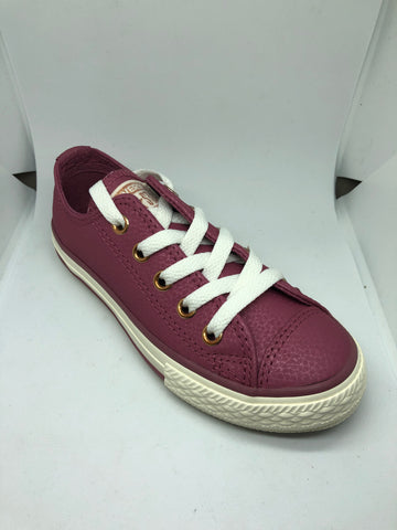 Converse Ctas Leather Ox - Vintage Wine