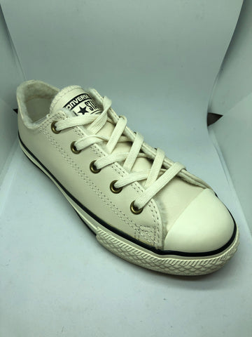 Converse Ctas Ox Leather - Parchment