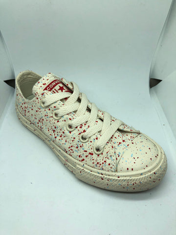 Converse Ctas Speckled Ox - Driftwood/Enamel red