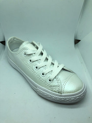Converse Ctas Leather Ox - White