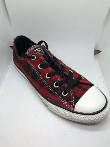 Converse Ctas Plaid - Red/Black