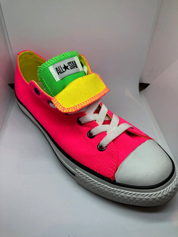 Converse CT Double Tongue Neon - Pink/Green/Yellow