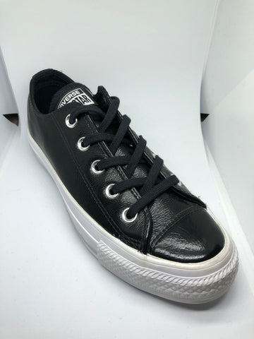 Converse Ctas Patent Leather Ox - Black