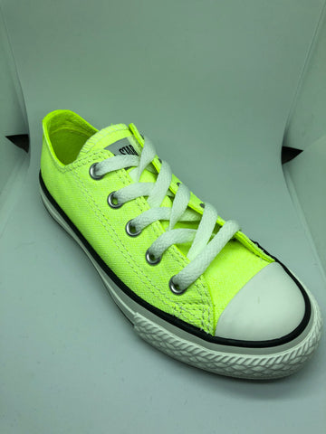 Converse Ctas Neon Wash Ox - Neon Yellow