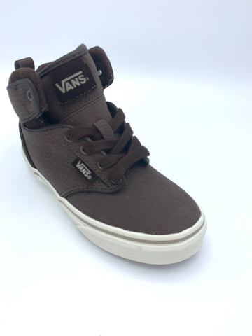 Vans Y Atwood Hi Leather Brown