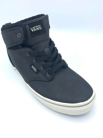 Vans Y Atwood Hi Leather Black