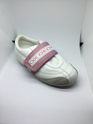 Geox J Twinkly H - White/ Pink