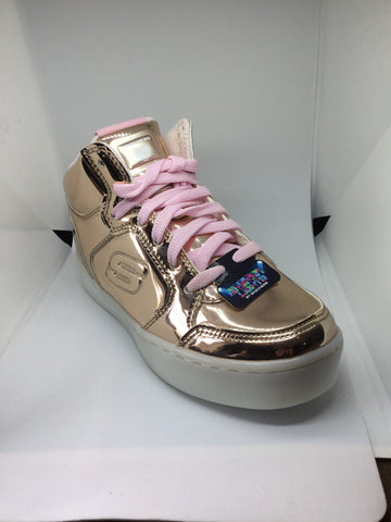 Skechers Energy Lights Dance-N-Dazzle - Rose Gold