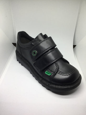 Kickers KL Strap - Black Leather