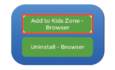 Add App to Kids Zone
