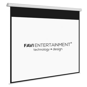 FAVI 100 inch 4:3 Motorized Electric Projector Screen