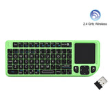 FAVI FE01-GR Wireless Mini Keyboard with Laser Pointer, Green