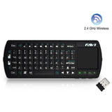FAVI FE02RF-BL Wireless Backlit Mini Keyboard with Laser Pointer