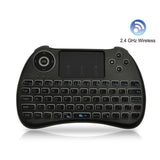 FAVI Mini Keyboard with Touchpad Mouse and Backlit Keys - Black (FE03-BL)