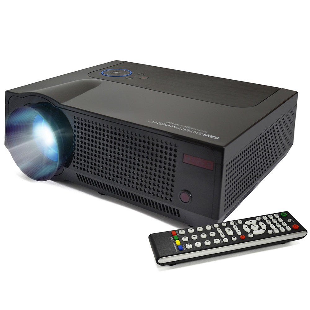 4000lm Projector Hd Lcd Led Home Theater Projector: FAVI RioHD-LED-4T Full HD Ultra-Bright LED LCD Home
