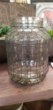 Load image into Gallery viewer, Pickle Jar with Chicken Wire Mesh
