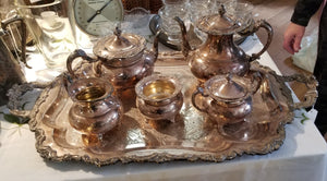 Scheffield Silver Plated Tea set