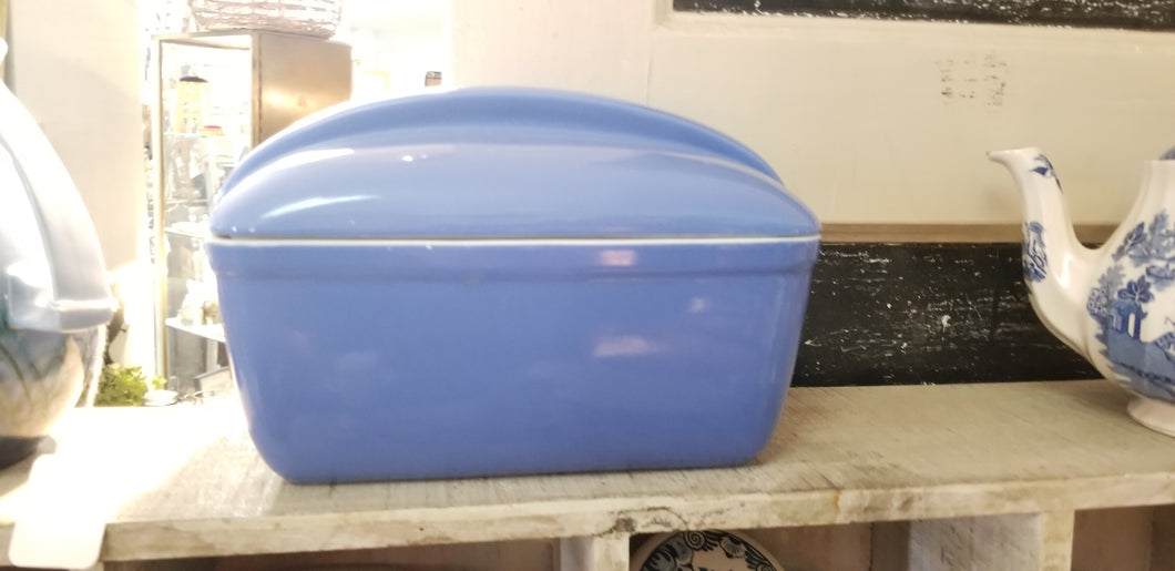 Blue  Halls Covered Ovenware