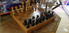 Load image into Gallery viewer, Vintage Wooden Chess Set