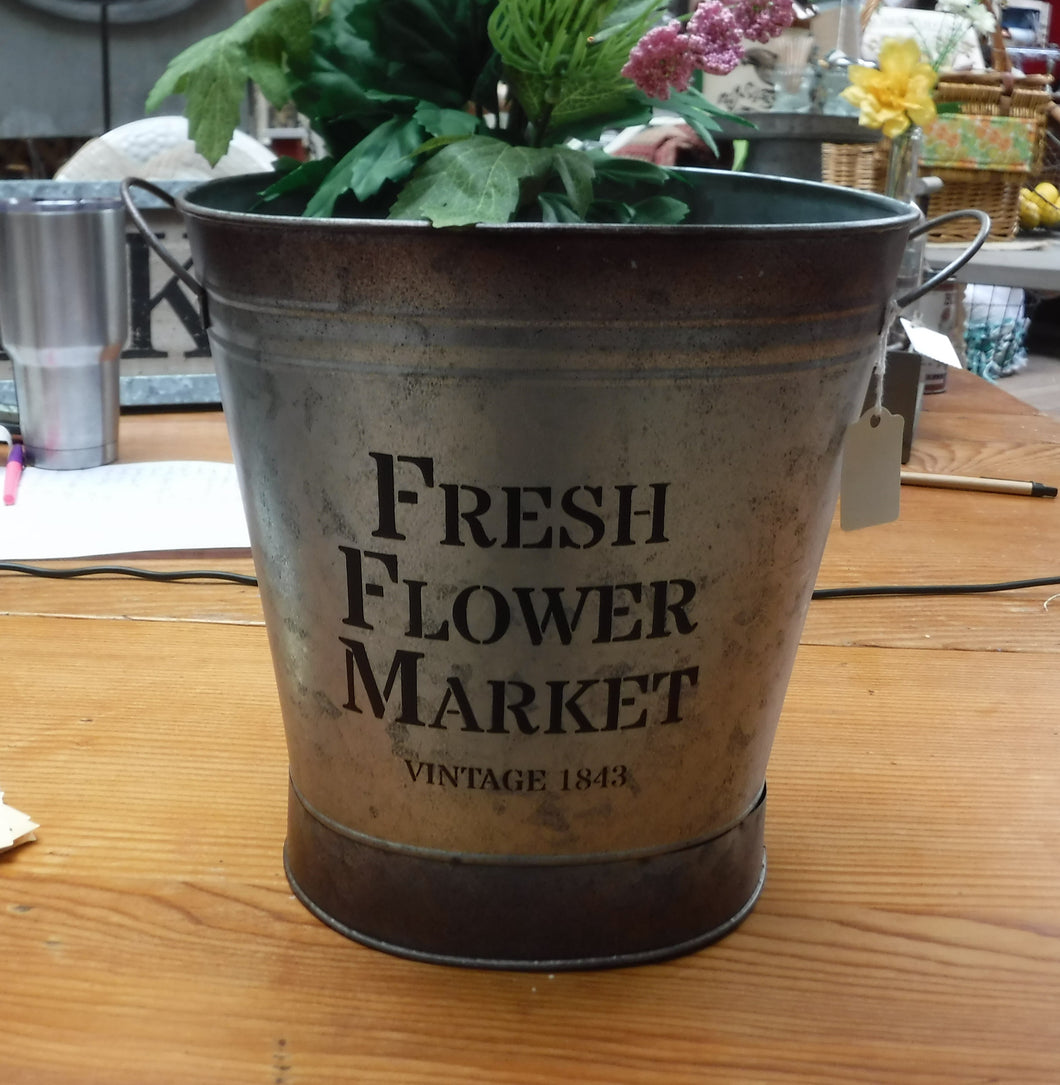 Flower Market Tin
