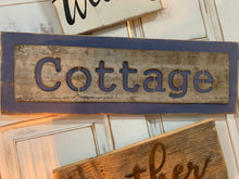Load image into Gallery viewer, Cottage Signs