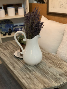 Large Farmhouse Farval Pitcher