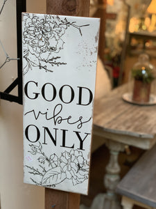 Good Vibes Only Wall Tile
