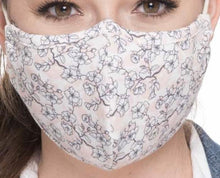 Load image into Gallery viewer, Antimocrobrial Face Masks (Handmade)  All US Made Fabric Tie Back - Shabby Creek Off Main