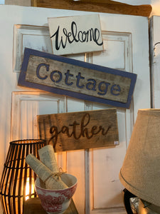 Cottage Signs