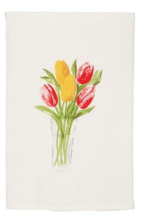 Tulip Bouquet Dishtowel