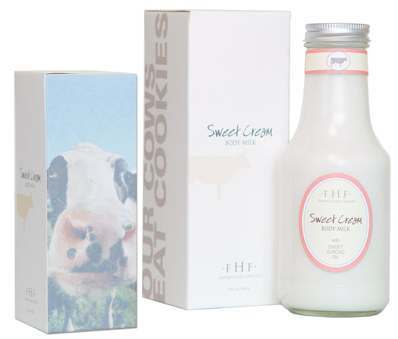 Sweet Cream Body Milk Lotion - Bottle