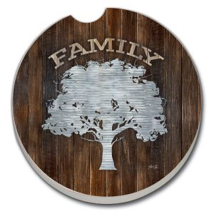 Family Tree Car Coaster