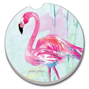 Flamingo Car Coaster