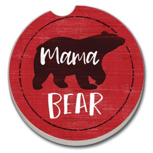 Mama Bear Car Coaster
