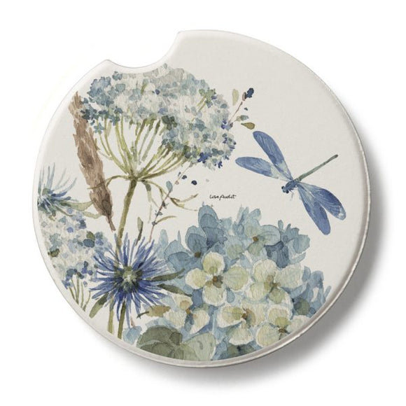 Dragonfly Floral Car Coaster